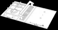 Küppersbusch Gas Deflektor Zub.-Nr. ZK 8003