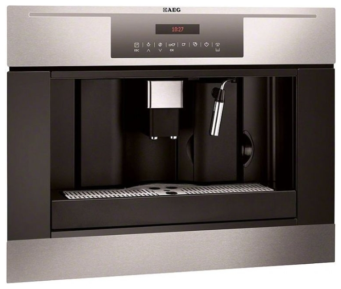 AEG Einbau Kaffeevollautomat PE4512 M Edelstahl